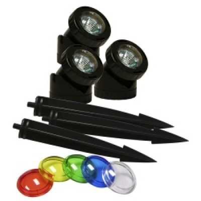 Alpine Power Beam set of (3) 20 watt lights only (PLM320)