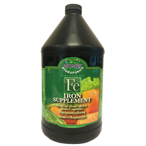 Microbe-Life Hydroponics Iron Supplement 1 gal (MPN PH21388)