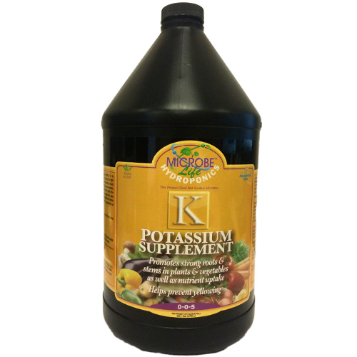 Microbe-Life Hydroponics Potassium Supplement 1 gallon (MPN PH21392)