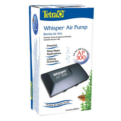 Tetra Whisper AP300 Air Pump (MPN 26076)