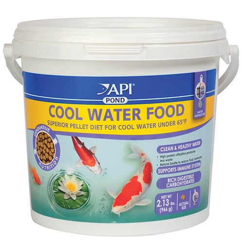 API Pond Cool Water Fish Food 2.13 lbs (MPN 197C)