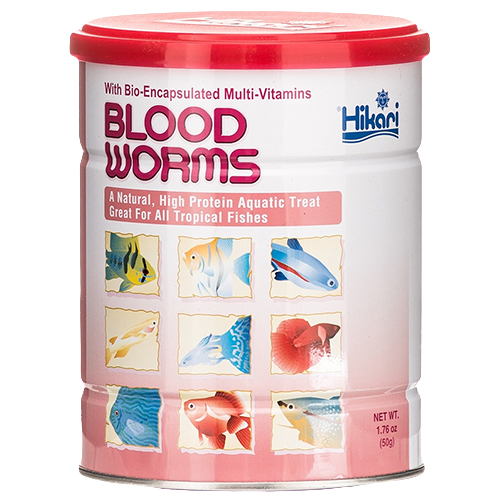 Hikari Freeze Dry Blood Worms 1.76 oz. (MPN 33210)
