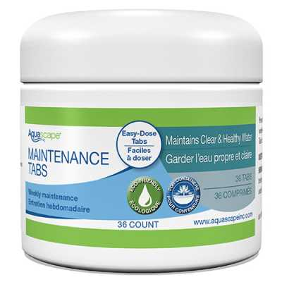 14004 - Aquascape Water Feature Maintenance Tablets 36 ct (MPN 40004)