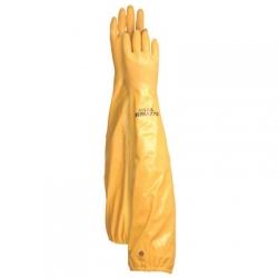 Yellow Pond Gloves Medium