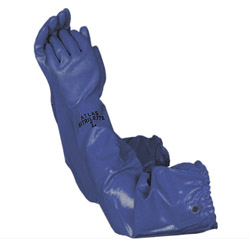 PVC Blue Pond Glove Medium