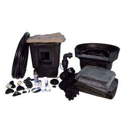 AquaScape Medium Pond Kit with AquaSurge PRO 2000-4000 pump