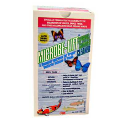 Microbe-Lift Spring Summer Cleaner 8 x 2 oz. (MPN 10XSSCX1)
