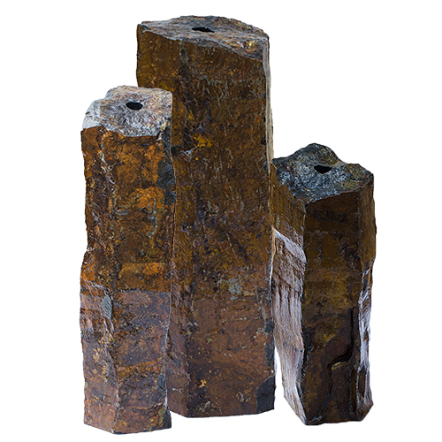 "58062 - Aquascape Natural Mongolian Basalt Column 3 PC Set - 24"", 30"", 36"" (MPN 58062)"