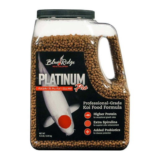 Blue Ridge Platinum Pro Fish Food 4.5 lb.