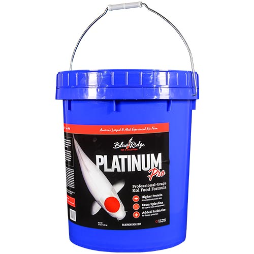 Blue Ridge Platinum Pro Fish Food 14 lb.