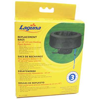 "Laguna 10"" Replacement Bags for Laguna Floating Plant Basket  (MPN PT984)"