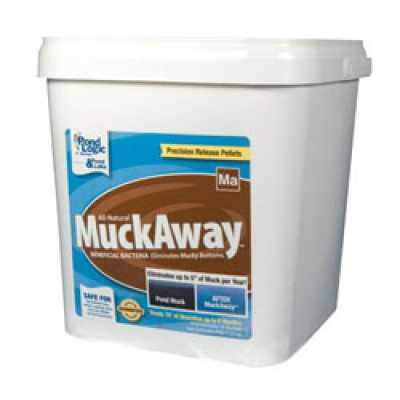 Pond Logic Muck Away Pellets 8 lbs (MPN 570109)