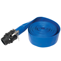 EasyPro 25' Roll-Up Hose for Pond Cleanouts (MPN PCH25)