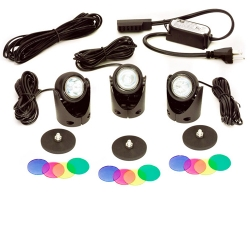 Calpump Egglite Kit, 3 lights, 16' extention cable, transformer (MPN 517502)