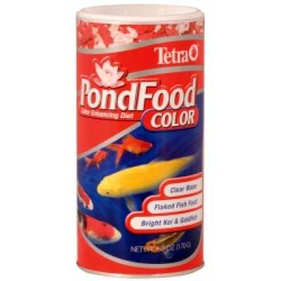 Tetra Pond Food Color Flaked Food 6 oz. (MPN 77021)