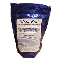 AquaMeds Medi-Koi Medicated Fish Food 1.25 lb.