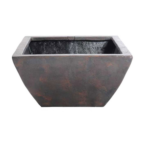 "Aquascape 24"" Small Square Textured Gray Slate Patio Pond (MPN 78049)"