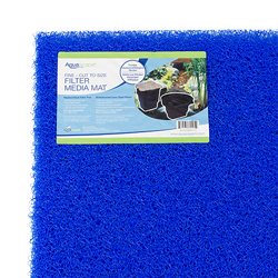 Aquascape Blue Filter Media Mat Fine - Cut to size (MPN 80005)