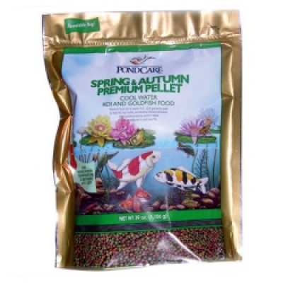 Pond Care Spring & Autumn Fish Food 39 oz