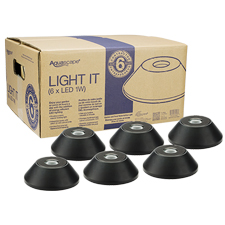 Aquascape 1-Watt LED Waterfall Light Contractor Pack (6) (MPN 84046)