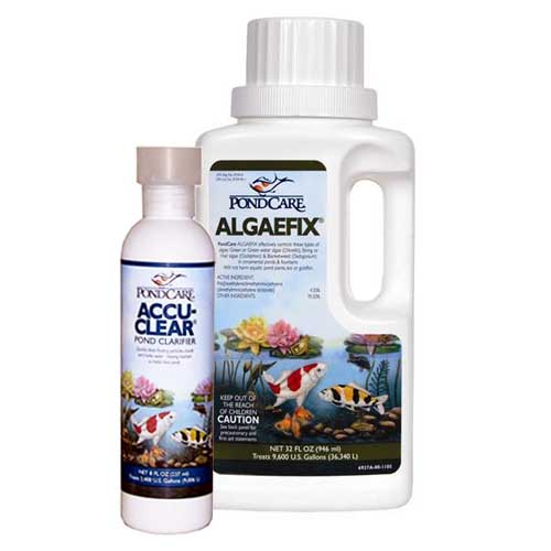 Pond Care AlgaeFix 32 oz w/Free AccuClear 8oz.