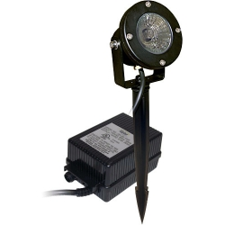 Alpine PLP150T, 50Watt Pond Light, Clear Lens, With Transformer