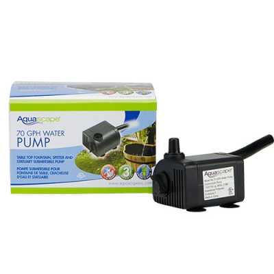 Aquascape 70 GPH Statuary & Fountain Pump (MPN 91023)