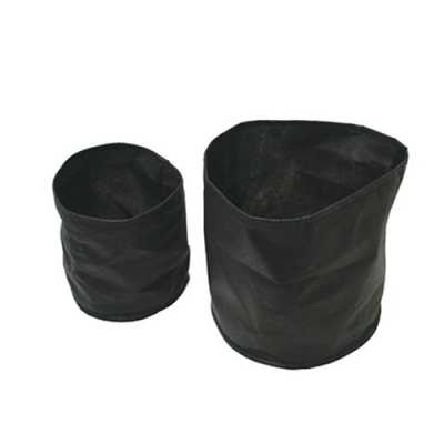 "Fabric Plant Pot 12"" Round x 8"" Deep (2 Pack)"