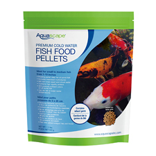 Aquascape Premium Cold Water Fish Food, Small Pellet 1.1 lb (MPN 98870)