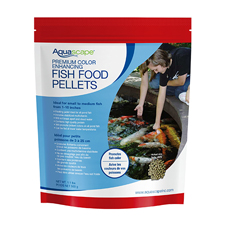 98873 - Aquascape Premium Color Enhancing  Fish Food, Small Pellet 1.1 lb (MPN 99873)
