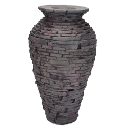 Aquascape Small Stacked Slate Urn Fountain