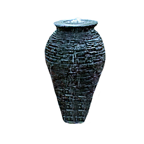 Aquascape Large Stacked Slate Urn Fountain