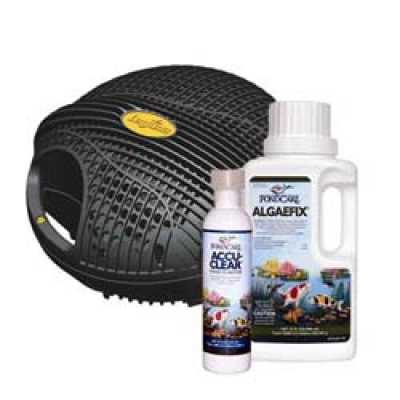 Laguna Next Generation Max-Flo 2900 Pump + Free PondCare Algae Fix & Accu-Clear