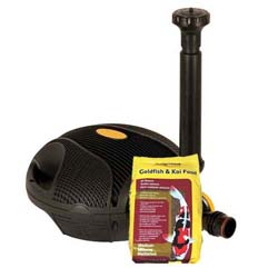 Laguna Powerjet 600 Fountain Pump + Free All Season Med Pellet 2.2 lbs