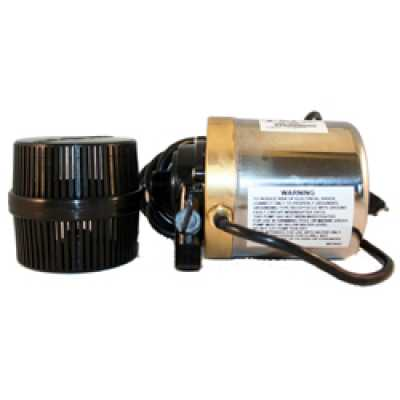 Calpump S1200T Bronze & Stainless 1200 gph Pump 6' cord and Barrel Filter #01508