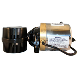 Calpump S580T Bronze & Stainless 580 GPH Pump with 6' cord and Barrel Filter #01508