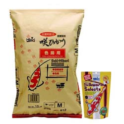 Saki-Hikari Color Enhancing Diet 33 lbs with free Silkworm Selects