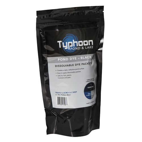 Atlantic Typhoon Pond Dye - Black - (2) 4oz WS Packs (MPN TPWDBLK2)