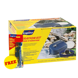 Laguna Aeration Kit PT-1630 with FREE Pond Thermometer (MPN PT1630)