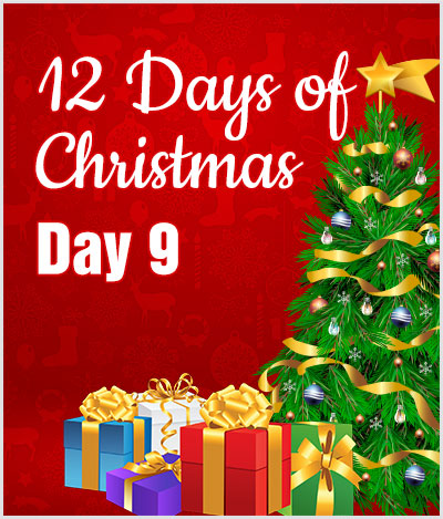 advert 12 days of christmas day9