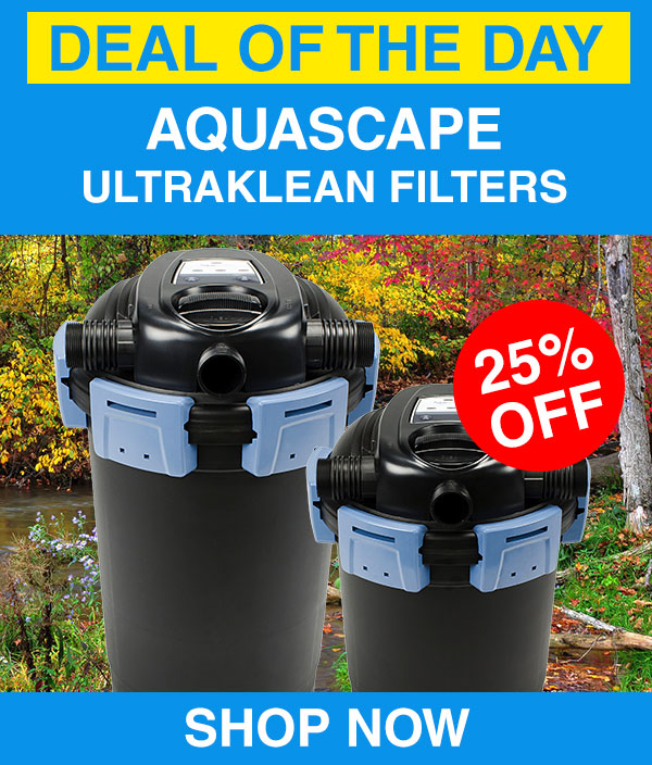 Aquascape Ultraklean Deal of the weekend